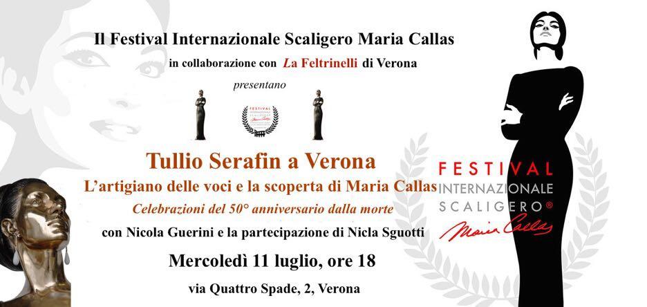 Il Festival Internazionale Scaligero Maria Callas ricorda Tullio Serafin