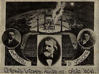 """L'impresa """"Arena"""", 10 agosto 1913"""