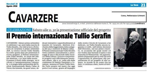 Il Premio Internazionale Tullio Serafin (La Voce di Rovigo)