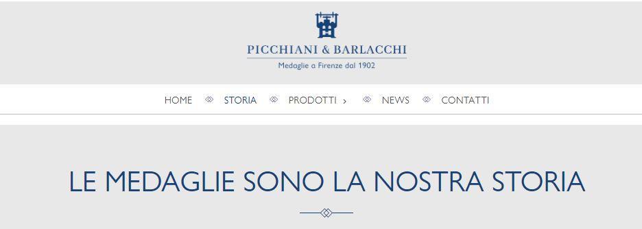 La medaglia commemorativa della storica Fonderia Picchiani e Barlacchi